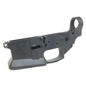 KE Arms KE-15 AR-15 .223 Rem/5.56 NATO Billet Flared Mag-Well Stripped Lower Receiver Billet Aluminum Matte Black