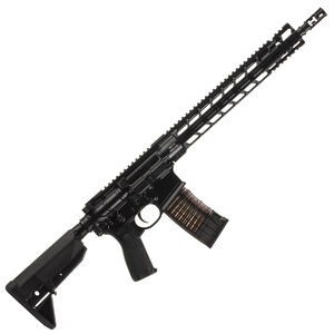 """Primary Weapons Systems MK114 Mod 2-M Semi Auto Rifle .223 Wylde 14.5"""" Barrel Pinned/Welded Muzzle Device 30 Rounds PicLok Free Float Hand Guard Matte Black"""