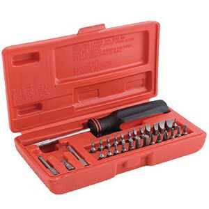 DAC GunMaster 31 Piece Professional Screwdriver Set with Carrying Case GSD031