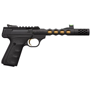 """Browning Buck Mark Plus Vision .22 Long Rifle Semi Auto Pistol 5-7/8"""" Barrel 10 Rounds F/O Front Sight Alloy Frame Black Finish"""