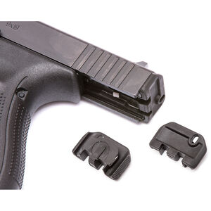 TangoDown Vickers Tactical Slide Racker fits Gen 5 GLOCK 17/19/19x/26/34 Only Stainless Steel/Injection Molded Glass Reinforced Nylon Wing Shape Matte Black