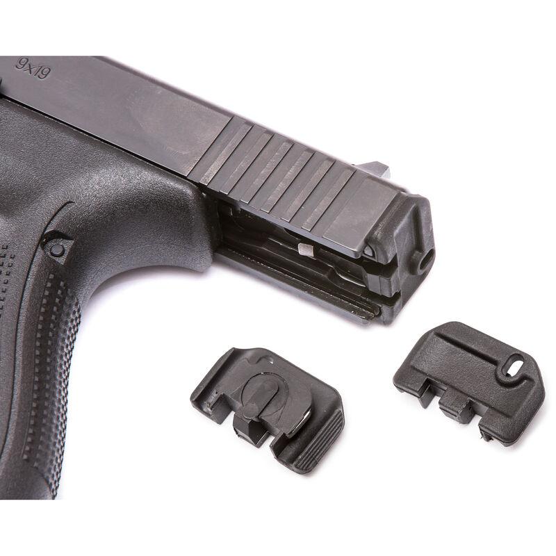 TangoDown Vickers Tactical Slide Racker fits Gen 5 GLOCK 17/19/19x/26/34  Only Stainless Steel/Injection Molded Glass Reinforced Nylon Wing Shape  Matte