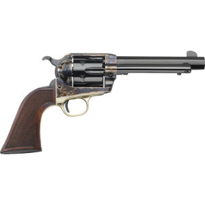 """E.M.F. GWII Alchimista III 1873 .45 LC Revolver 5.5"""" Octagon Barrel 6 Rounds Wide Hammer and Trigger 1860 Army Walnut Grip Case Hardened/Blued Finish"""