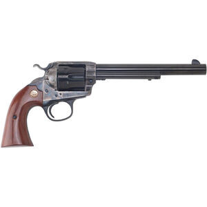 "Cimarron Firearms Bisley 1896 Special Target .44-40 Win Single Action Revolver 6 Rounds 7.5"" Barrel Walnut Grips Color Case Hardened/Blued Finish"