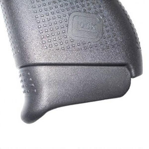 Pearce GLOCK 43 Grip Extension Plus Adds 1 Round Polymer Black PG43PLUS