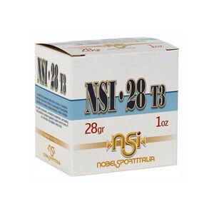 "NobelSport Hunting 28 ga 2-3/4"" #8 Lead 1 oz 25 Round Box"