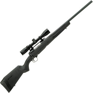 """Savage 110 Apex Hunter XP .450 Bushmaster Bolt Action Rifle 22"""" Barrel 3 Rounds with 3-9x40 Scope Synthetic Stock Black Finish"""
