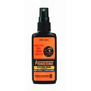 Primetime Raccoon Urine Cover Scent  2 Ounce