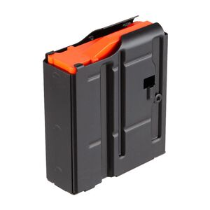 D&H Tactical SR-25 LR-308 6.5 Creedmoor 10 Round Steel Magazine With D&H Orange Follower Black