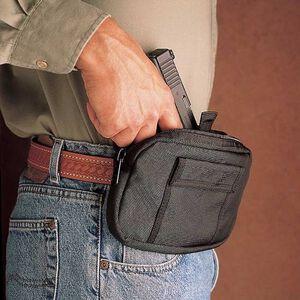 DeSantis Gun Caddie Small Frame Pistol and Revolvers Concealed Belt Holster Ambidextrous Nylon Black