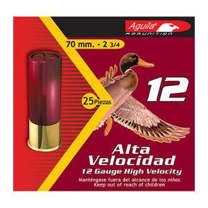 "Aguila High Velocity 12 Ga 2.75"" #2 Lead 1.25oz 250 rds"