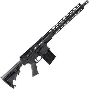 "Diamondback DB10 .308 Win AR-308 Semi Auto Rifle 16"" Barrel 20 Rounds 15"" Freefloat M-LOK Handguard Collapsible Stock Black"