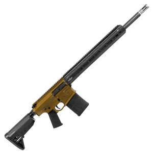 "Christensen Arms CA-10 G2 AR-Style 6.5 Creedmoor Semi Auto Rifle 20"" Barrel 20 Rounds M-LOK Free Float Hand Guard Collapsible Stock Burnt Bronze/Black"