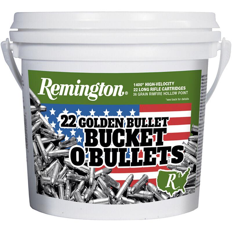 Remington 22 GOLDEN BULLET .22 LR Ammunition 36 Grain Plated HP Bullet 1280fps
