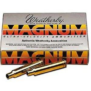 Weatherby 7mm Weatherby Magnum Unprimed Brass Cases 20 Per Box BRASS7MM