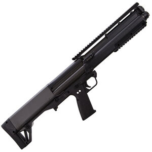 "Kel-Tec KSG Pump Action Shotgun 12 Gauge 18.5"" Barrel 3"" Chamber 12 Rounds Dual Tube Magazines Downward Ejection Ambidextrous Synthetic Stock Matte Black Finish"