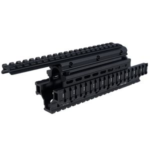 Saiga Shotgun Quad Rail UTG Pro Removable Top Rail 12 Gauge Only