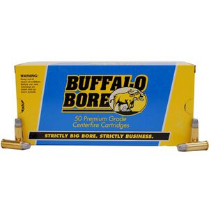 Buffalo Bore .44 Special Ammunition 50 Rounds Keith SWC Gas Check 255 Grains 14B/50