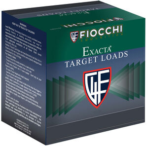 "Fiocchi Exacta Target Line Crusher 12 Gauge Ammunition 2-3/4"" #8 Shot 1oz Lead 1300fps"