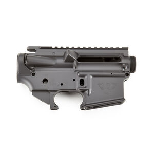 Wilson Combat AR-15 Forged Lower And Upper Receiver Matched Set Stripped Black Armor-Tuff Finish TR-LOWUPP