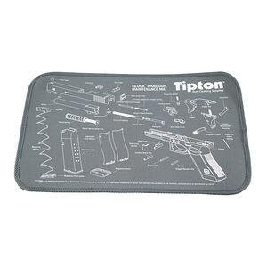 "Tipton GLOCK Armorer's Bench Maintenance Mat 11""x17"" Fabric/Neoprene Black"