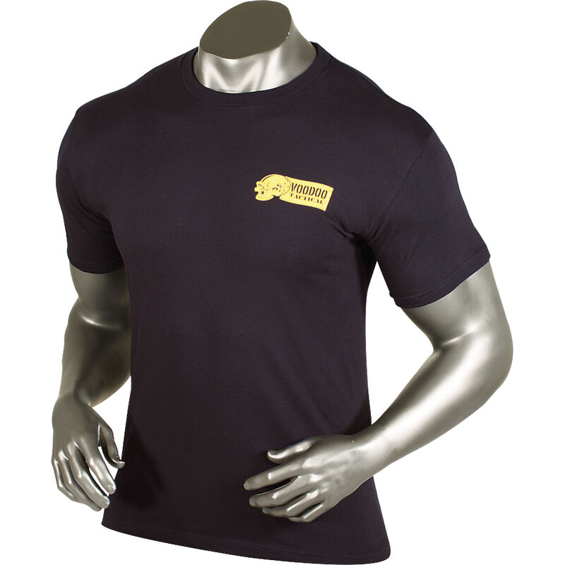 Voodoo Skull T Shirt Cotton Medium Black