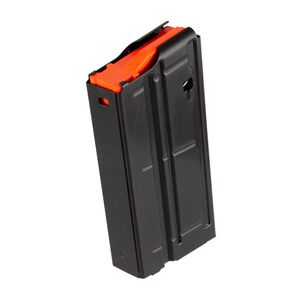 D&H Tactical SR-25 LR-308 6.5 Creedmoor 20 Round Steel Magazine With D&H Orange Follower Black