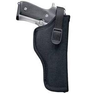 "Uncle Mike's Sidekick Hip Holster 3""-4"" Barrel Medium/Large Double Action Revolvers Right Hand Nylon Black 8102-1"