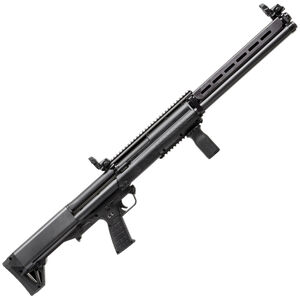 "Kel-Tec KSG-25 Pump Action Shotgun 12 Gauge 30.5"" Barrel 3"" Chamber 24 Rounds Dual Tube Magazines Downward Ejection Ambidextrous Synthetic Stock Matte Black Finish"