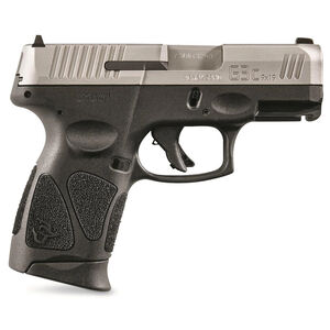 """Taurus G3c 9mm Luger Semi Auto Pistol 3.20"""" Barrel 10 Rounds Fixed Sights Manual Safety Polymer Frame Two Tone Finish"""