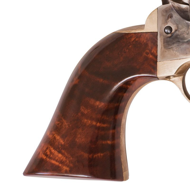 "Cimarron 1851 Richards-Mason Revolver .38 Special 5.5"" Barrel 6 Rounds Walnut Grips Case Hardened Brass and Blue Finish"