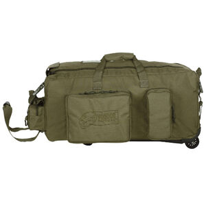 "Voodoo Mini Mojo Load-Out Bag on Wheels 28"" x16"" x 14"" 3 Gear Pockets 67L OD Green"