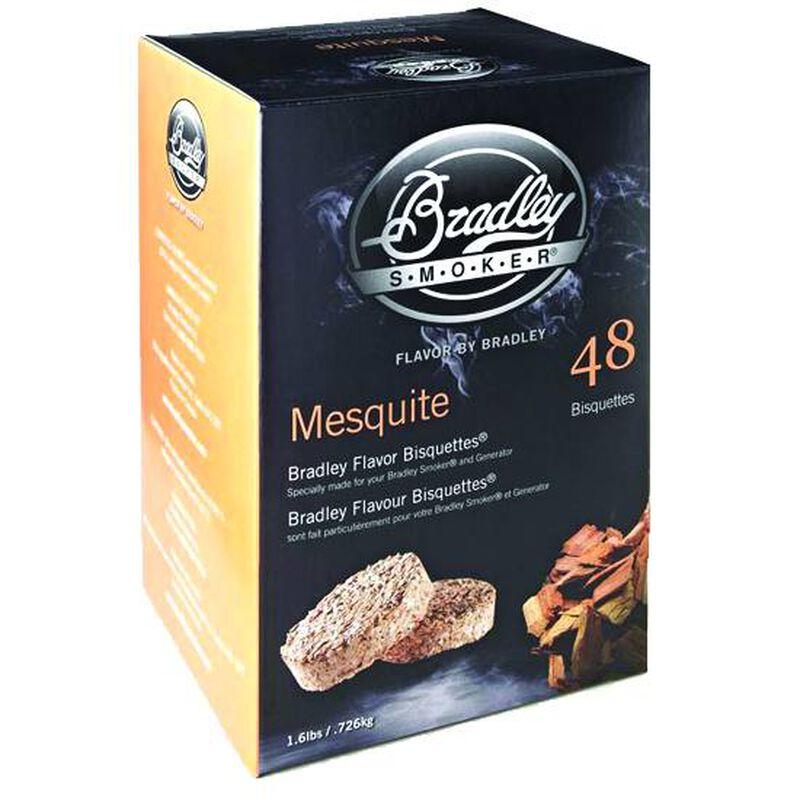 Bradley Smoker Bisquettes Mesquite 48 Pack BTMQ48