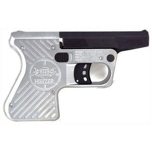 "Heizer Defense Pocket AR Break Action Single Shot Pistol .223 Remington 3.87"" Barrel One Round Capacity Two Tone Matte Black Barrel/Stainless Steel Frame PAR1SS"