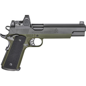 "Springfield Armory 1911 TRP Long Slide with RMR 10mm Auto Semi Auto Pistol 6"" Barrel 8 Rounds Night Sites with Trijicon RMR Steel Frame G10 Grips"