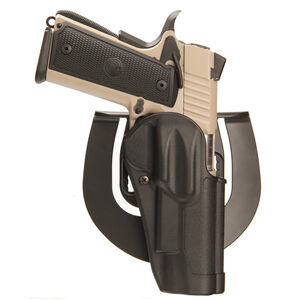 BLACKHAWK! Sportster Standard Ruger SR9, SR40 Belt/Paddle Holster Right Hand Composite Body Matte Black 415641BK-R
