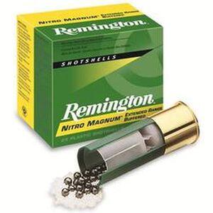 "Remington Nitro Mag 12 Gauge Ammunition 25 Rounds 3"" #6 Lead 1-5/8 Ounce NM126"