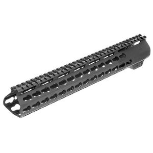 "AIM Sports LR-308 High Profile 13.5"" Keymod Handguard Aluminum Black MTK13H308"