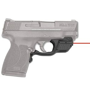 Crimson Trace Laserguard Smith & Wesson M&P 45 Shield Red Laser