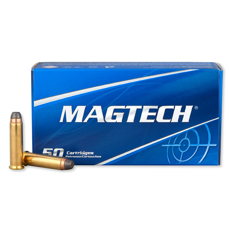 Magtech .357 Magnum Ammunition 50 Rounds SJSP 158 Grains 357A