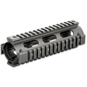 Leapers UTG PRO AR-15 Carbine Length Drop In Quad Rail Hand Guard Aluminum Anodized Matte Black