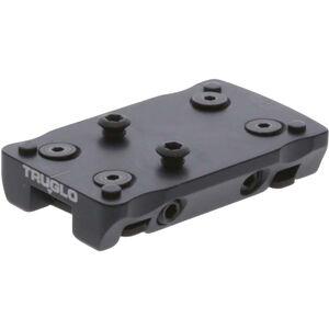 TRUGLO Dot-Optic Mount Universal Shotgun Rib Mount Fits Doctor/Noblex Footprint Red Dot Steel Black