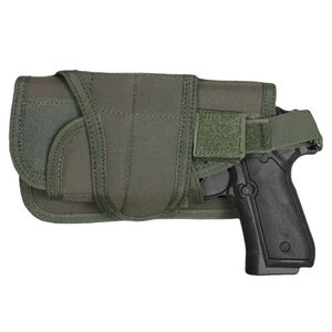 Fox Outdoor Typhoon Horizontal Mount Modular Holster Large Autos Left Hand Nylon Olive Drab Green 58-8805