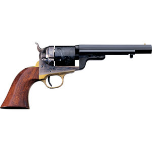 "Cimarron 1851 Richards-Mason Revolver .38 Special 5.5"" Barrel 6 Rounds Walnut Grips Case Hardened Brass and Blue Finish"