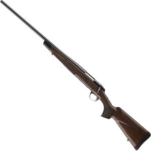 "Browning X-Bolt Medallion Left Handed Bolt Action Rifle 6.5 Creedmoor 22"" Barrel 4 Rounds Gloss Walnut Stock Polished Blued Finish"
