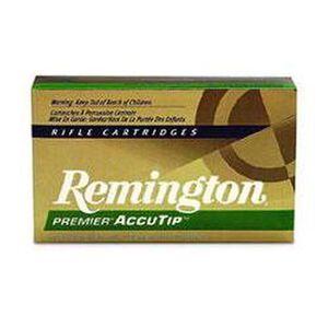 Remington .270 Winchester Premier Ammunition 20 Rounds, AccuTip, 130 Grains