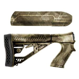 Adaptive Tactical EX PerformanceRemington 870 Forend And M4 Style Stock Polymer A-TACS Camoflague