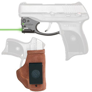 Viridian R5 Reactor Green Laser Sight with Galco Stow-N-Go IWB Holster for Ruger LC9 Right Hand Draw Black R5-LC9-GSG