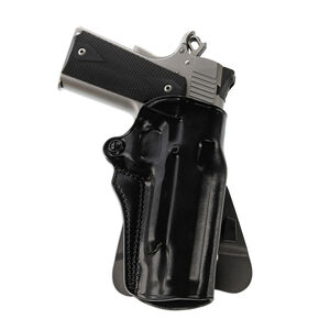 Galco Speed Master 2.0 1911 Paddle Holster Right Hand Leather Black
