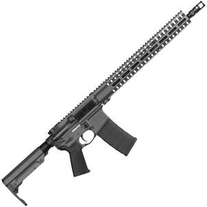 "CMMG Resolute 300 Mk4 .300 Blackout AR-15 Semi Auto Rifle 16"" Barrel 30 Rounds RML15 M-LOK Handguard RipStock Collapsible Stock Sniper Grey Finish"